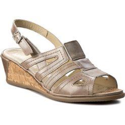 Rzymianki damskie: Sandały COMFORTABEL – 710756 Braun 2