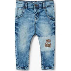 Spodnie chłopięce: Mango Kids - Jeansy dziecięce Rock 80-104 cm