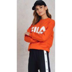 Bluzy damskie: FILA Bluza Classic Logo - Orange