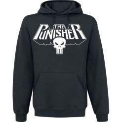 Bejsbolówki męskie: The Punisher Logo Bluza z kapturem czarny