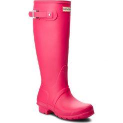 Kalosze HUNTER - Org Tall Gloss WFT1000RMA Bright Pink. Czerwone buty zimowe damskie Hunter, z kauczuku. Za 549,00 zł.