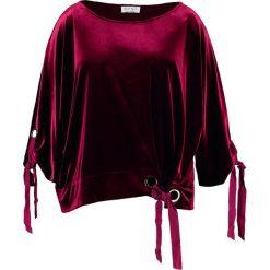 Bluzki asymetryczne: Elvi Bluzka z długim rękawem burgundy