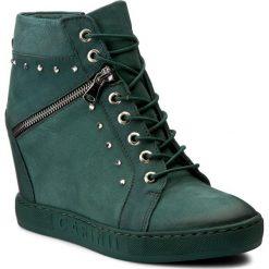 Sneakersy CARINII - B3254 I64-000-000-B88. Zielone sneakersy damskie Carinii, z materiału. W wyprzedaży za 269,00 zł.