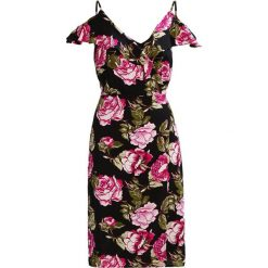 Sukienki hiszpanki: Moves HOLA Sukienka letnia berry