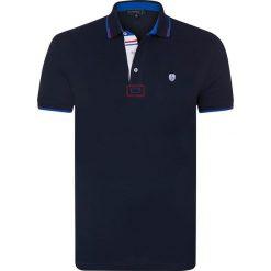 """Koszulki polo: Koszulka polo """"Cubic"""" w kolorze granatowym"""