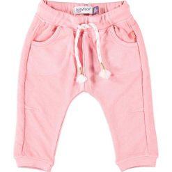 Spodnie niemowlęce: Spodnie w kolorze różowym