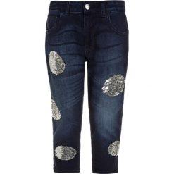 Sisley TROUSERS Jeansy Relaxed Fit blue denim. Niebieskie jeansy dziewczęce Sisley, z bawełny. W wyprzedaży za 135,20 zł.
