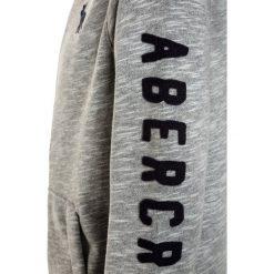 Abercrombie & Fitch CORE  Bluza rozpinana grey. Niebieskie bluzy chłopięce rozpinane marki Abercrombie & Fitch. W wyprzedaży za 170,10 zł.