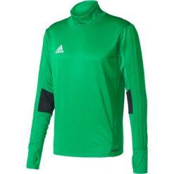 Bluzy męskie: Adidas Bluza treningowa Tiro 17 Zielona, Rozmiar L (BQ2738*L)