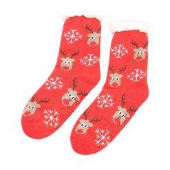 Czerwone Skarpetki Christmas Time. Czerwone skarpetki damskie other. Za 19,99 zł.