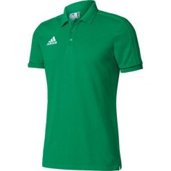 Koszulki do piłki nożnej męskie: Adidas Koszulka piłkarska polo Tiro 17 zielona r. XXL