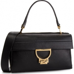 Torebka COCCINELLE - DD5 Arlettis E1 DD5 12 01 01 Noir 001. Czarne torebki klasyczne damskie marki Coccinelle, ze skóry. Za 1649,90 zł.