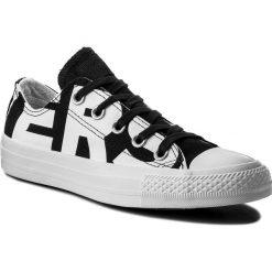 Trampki CONVERSE - Ctas Ox 159618C Black/White/White. Białe trampki męskie Converse, z gumy. W wyprzedaży za 199,00 zł.