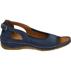Sandały damskie: Sandały – 1170 NAB BLU