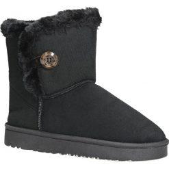 Czarne śniegowce z futerkiem emu Casu 703. Czarne śniegowce damskie Casu. Za 39,99 zł.