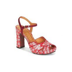 Sandały Chie Mihara  CASSY. Czerwone sandały damskie Chie Mihara. Za 967,20 zł.