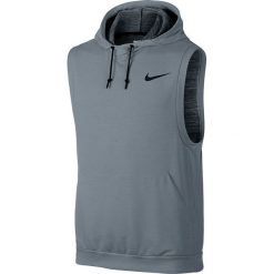 Nike Koszulka męska Dri-Fit Fleece Pullover szara r. L (742618 065). Szare koszulki sportowe męskie marki Nike, l. Za 169,23 zł.