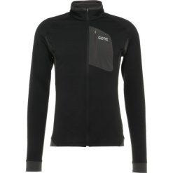 Gore Wear THERMO Kurtka z polaru black/terra grey. Czarne kurtki trekkingowe męskie Gore Wear, m, z elastanu. Za 589,00 zł.