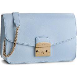 Torebka FURLA - Metropolis 972396 B BTJ7 ARE Fiordaliso e. Niebieskie torebki klasyczne damskie Furla, ze skóry. W wyprzedaży za 1179,00 zł.