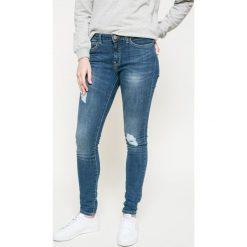 Noisy May - Jeansy Lucy. Niebieskie jeansy damskie marki Noisy May, z bawełny. W wyprzedaży za 69,90 zł.