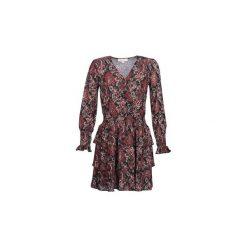 Sukienki krótkie MICHAEL Michael Kors  SWTHRT PAISLY. Szare sukienki mini marki MICHAEL Michael Kors, l, z krótkim rękawem. Za 989,00 zł.