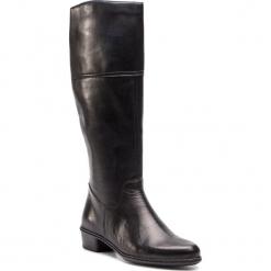 Oficerki RIEKER - Y0748-00 Schwarz. Czarne buty zimowe damskie Rieker, ze skóry. Za 329,00 zł.
