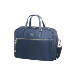 "Samsonite Karissa BIZ 15.6"" granatowa. Szare torby na laptopa marki Samsonite, z materiału. Za 579,00 zł."