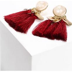 Czerwone Kolczyki Like Pearls. Czerwone kolczyki damskie Born2be. Za 19,99 zł.