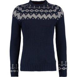 Swetry klasyczne męskie: Blend Sweter navy