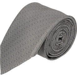 Krawaty męskie: krawat platinum szary classic 213