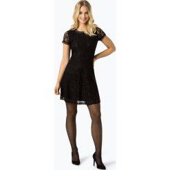 ONLY - Sukienka damska – Onlsanta, czarny. Czarne sukienki balowe ONLY, w koronkowe wzory, z koronki. Za 159,95 zł.