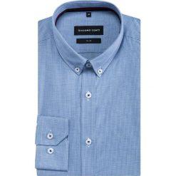 Koszula SIMONE KDNS000342. Czarne koszule męskie na spinki marki TOM TAILOR DENIM, l, z bawełny, button down, z długim rękawem. Za 199,00 zł.