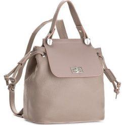 Plecak CREOLE - K10400 Beżowy. Brązowe plecaki damskie Creole, ze skóry, klasyczne. W wyprzedaży za 239,00 zł.