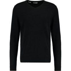 Swetry klasyczne męskie: Selected Homme TOWER Sweter black