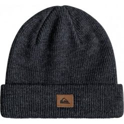 Quiksilver Czapka Zimowa Performed Dark Charcoal Heather. Brązowe czapki zimowe męskie Quiksilver, na zimę, sportowe. W wyprzedaży za 59,00 zł.