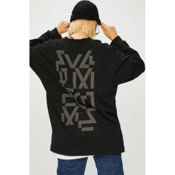 Answear - Bluza Manifest Your Style Full Time Crime. Czarne bluzy z nadrukiem damskie ANSWEAR, l, z dzianiny, bez kaptura. W wyprzedaży za 159,90 zł.