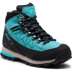 Trekkingi ELBRUS - Muerto Mid Wp Turquoise/Black/Mint. Niebieskie buty trekkingowe damskie marki ELBRUS. W wyprzedaży za 289,00 zł.