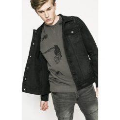 Medicine - Kurtka Utility. Niebieskie kurtki męskie jeansowe marki Reserved, l. Za 149,90 zł.