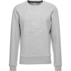 GANT CNECK Bluza light grey melange. Niebieskie bluzy męskie marki GANT. Za 549,00 zł.