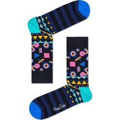 Happy Socks - Skarpety Mix Max. Niebieskie skarpetki męskie Happy Socks, z bawełny. W wyprzedaży za 27,90 zł.
