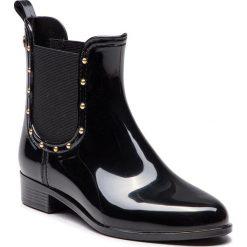 Kalosze GIOSEPPO - 46292 Black. Czarne buty zimowe damskie Gioseppo, z materiału. Za 219,00 zł.