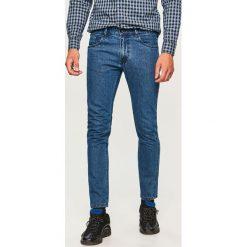 Jeansy slim fit - Niebieski. Niebieskie jeansy męskie relaxed fit marki Reserved. Za 129,99 zł.