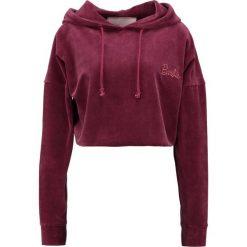 Bluzy damskie: Missguided BARBIE HOODED  Bluza z kapturem burgundy