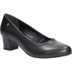 Czarne czółenka na niskim obcasie Casu 3015. Czarne buty ślubne damskie marki Casu, na niskim obcasie. Za 78,99 zł.