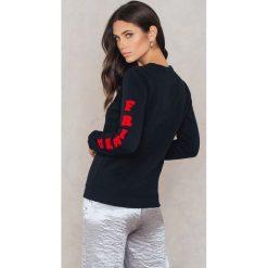 Bluzy rozpinane damskie: Colourful Rebel Bluza Lover Friend - Black