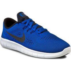 Buty NIKE - Free Rn (GS) 833989 401 Game Royal/Black/White. Niebieskie buty do biegania damskie marki Salomon, z gore-texu, na sznurówki, gore-tex. W wyprzedaży za 259,00 zł.