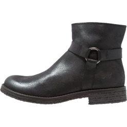 Felmini CREPA Ankle boot black. Czarne botki damskie na zamek Felmini, z materiału. Za 549,00 zł.