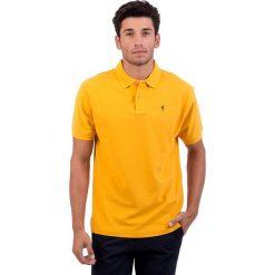 Koszulki polo: Koszulka polo w kolorze żółtym