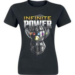 Bluzki asymetryczne: Avengers Infinity War - Infinite Power Koszulka damska czarny