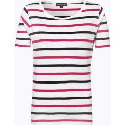Franco Callegari - T-shirt damski, lila. Zielone t-shirty damskie marki Franco Callegari, z napisami. Za 89,95 zł.